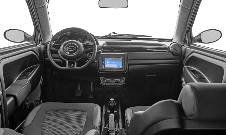 Microcar MGO 6X interior