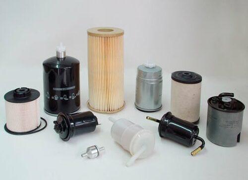 piezas de recambio filtros