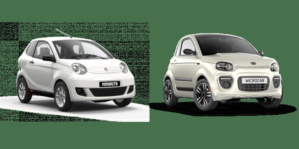 Este versus estará compuesto por los representantes más económicos de ambas marcas, Aixam Minauto Access, sencillo y elegante y el Microcar Due, más juvenil.