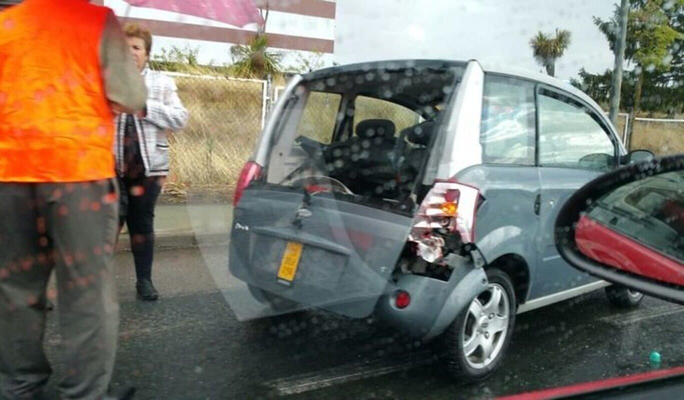 Accidentes en coches sin carnet